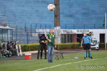 Eduardo Baptista diz ter encontrado time ideal do Mirassol ao fim do turno na Série C - globoesporte.com