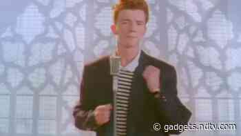 Rick Astley's 1987-Hit 'Never Gonna Give You Up' Garners One Billion Views on YouTube