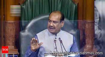 Lok Sabha Speaker: Hurt over unruly behaviour of some opposition MPs