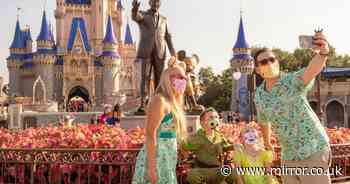 Disney set to make two-year-olds wear face masks indoors as cases rise in US