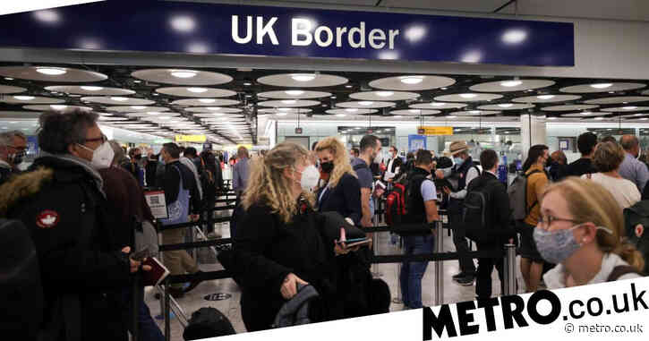 UK at risk of letting new Covid variants 'run rampant' by easing travel rules