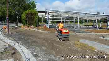 La rénovation du lycée Condorcet de Saint-Quentin bat son plein avec une partie opérationnelle pour la rentrée de septembre - L'Aisne Nouvelle