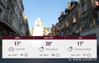 Saint-Quentin et ses environs : météo du mercredi 28 juillet - L'Union