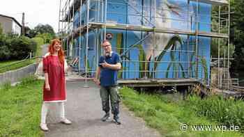 Olsberg: Leif-Eric Möller sprüht fotorealistische Bilder - Westfalenpost