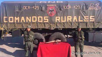 Comandos Rurales abatieron a extorsionador en Camatagua - Diario El Siglo