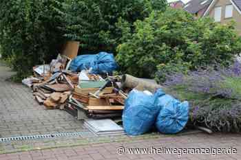 350 Tonnen Hochwasser-Müll in Bergkamen: Kostenlose Abfuhr endet - Hellweger Anzeiger