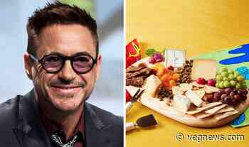 """Robert Downey Jr. Says This Vegan Cheese Startup Puts the """"Eco In Queso"""" - VegNews"""