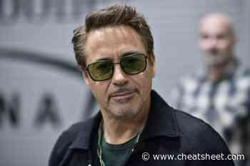 Robert Downey Jr. Wore Armani and Calvin Klein While In Prison - Showbiz Cheat Sheet