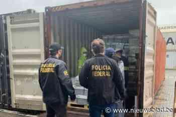 368 kilo cocaïne voor Antwerpen onderschept