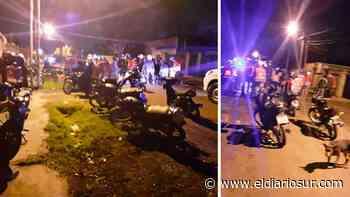 Le robaron la moto a un delivery de Monte Grande y la recuperaron con el GPS - El Diario Sur