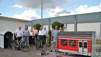 Fahrradboxen stehen ab sofort am Bus- und Zugbahnhof in Brilon bereit - sauerlandkurier.de