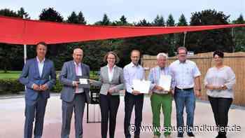 Ministerin Ina Scharrenbach übergibt drei Förderbescheide in Brilon - sauerlandkurier.de