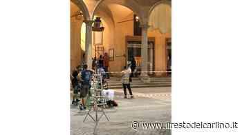 La Pausini gira il suo film in piazza del Popolo - il Resto del Carlino