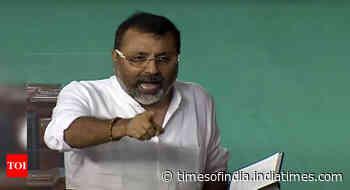 'Bihari Gunda': BJP MP Nishikant Dubey accuses TMC member of name-calling