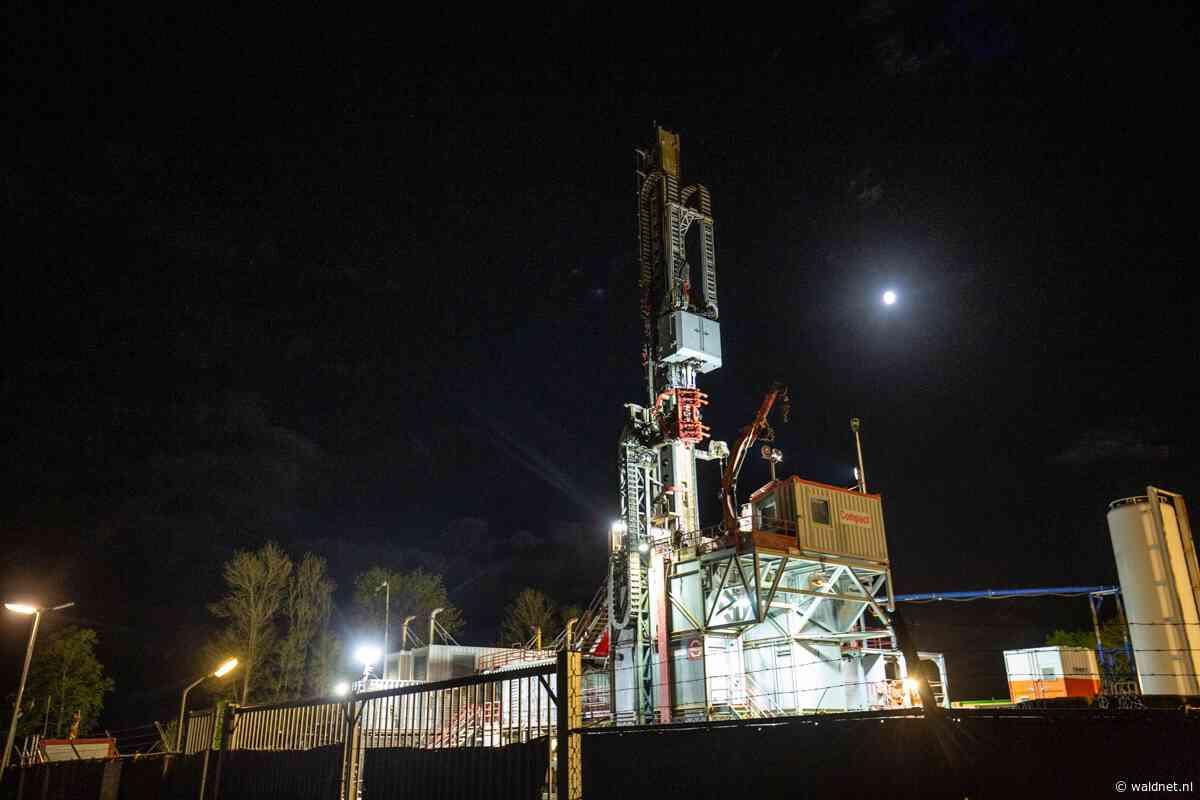Werk bij gasveld Nijega gaat dag en nacht door - Waldnet