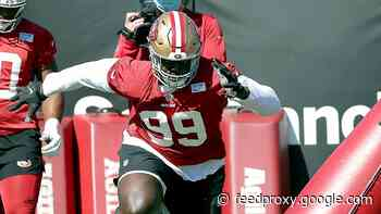 Javon Kinlaw limited in practice as 49ers defender returns from knee issue