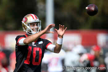 Top five things Jimmy Garoppolo said (including swear words) after first 49ers practice