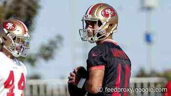 Jimmy Garoppolo discusses relationship with Trey Lance as 49ers start training camp