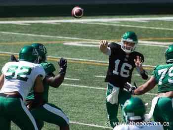 Rob Vanstone: Saskatchewan Roughriders facing quarterback quandary - The Post - Ontario