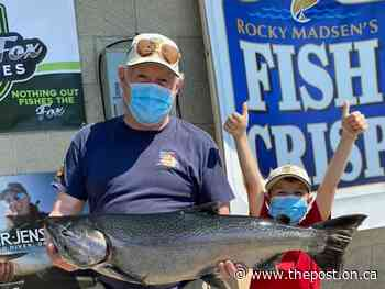 Chantry Chinook Classic led by 17-pounder as of July 27 - The Post - Ontario