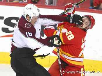Flames acquire hulking defenceman Nikita Zadorov for draft pick - The Post - Ontario