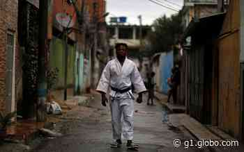 Refugiado congolês que vive no Rio de Janeiro perde nas Olimpíadas; conheça o judoca Popole Misenga - G1