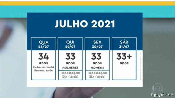Prefeitura do Rio retoma vacinação contra Covid nesta quarta - G1