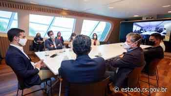 Leite se reúne com diretoria da Iniciativa FIS no Rio de Janeiro - Governo do Estado do RS