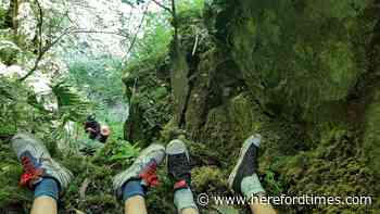 Young boys stuck near Herefordshire border waterfall rescued
