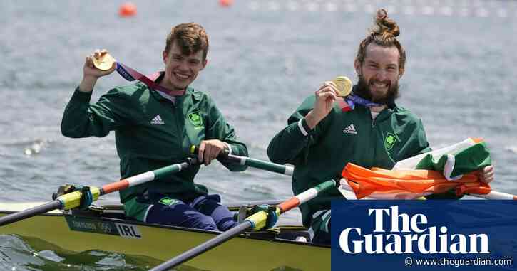 Paul O'Donovan and Fintan McCarthy win Ireland's first rowing Olympic gold