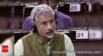 US, India against military takeover of Afghanistan: S Jaishankar in Rajya Sabha