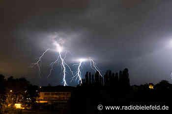 In Bielefeld gab es 2020 die meisten Blitzeinschläge in NRW - Radio Bielefeld