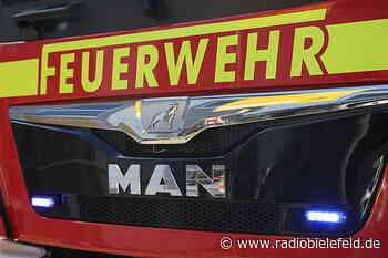 Feuer in Elverdissen bei Bielefeld-Brake - Radio Bielefeld