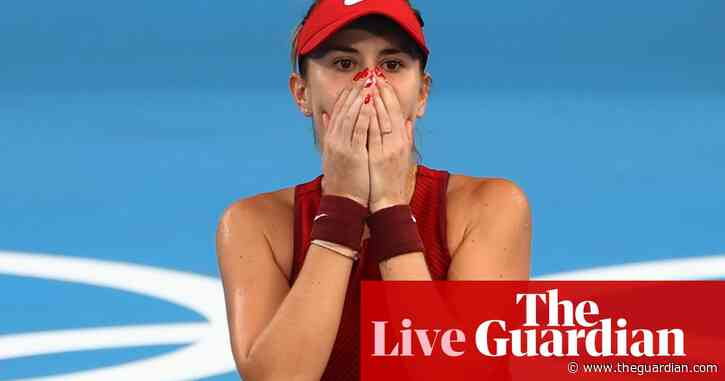 Tokyo 2020 Olympics: tennis, rugby sevens, gymnastics and more – live!