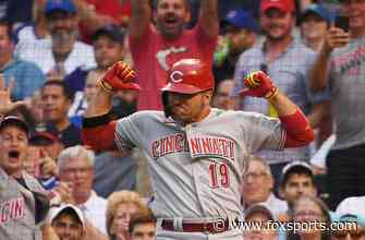Joey Votto homers twice in second straight game in Reds' 8-2 win vs. Cubs