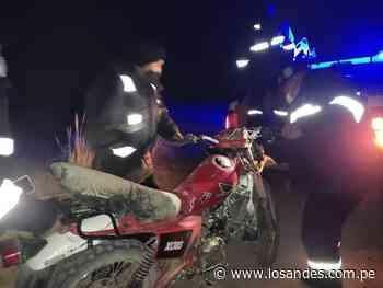 Menores de edad resultaron heridos en despistes de motos lineales en Ilave - Los Andes Perú