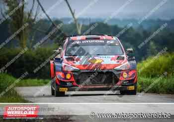 WRC Ieper: Test Thierry Neuville & Martijn Wydaeghe - Autosportwereld