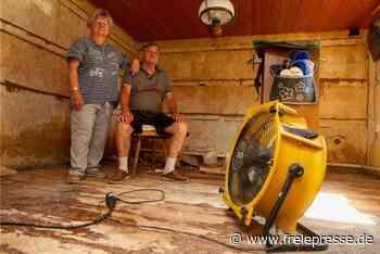 Nach dem Hochwasser: Plauener Familie kämpft um ihr Heim - Freie Presse