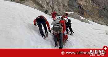 Schwierige Rettung: Alpinistin am Dachstein von Stein getroffen und verletzt - Kleine Zeitung