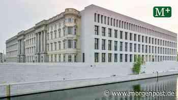 Ein Garten aus Stein am Humboldt Forum - Berliner Morgenpost