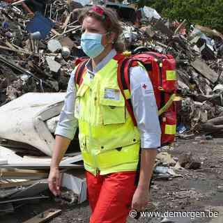 'We vrezen voor de klap nadien': deze vrijwilligers van het Rode Kruis helpen in Pepinster en Trooz