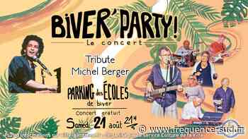 Biver'Party - concert Michel Berger story - 26/08/2021 - Gardanne - Frequence-sud.fr - Frequence-Sud.fr