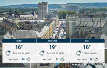 Sedan et ses environs : météo du mercredi 28 juillet - L'Ardennais
