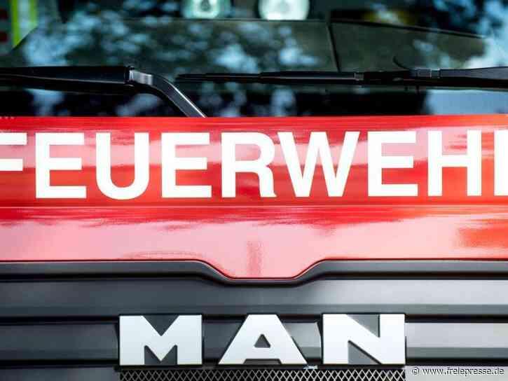 Brand in Asylbewerberheim von Hoyerswerda - Evakuierung - Freie Presse
