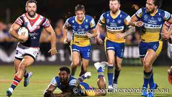 Eels title hopes take hit in Roosters loss - The Recorder