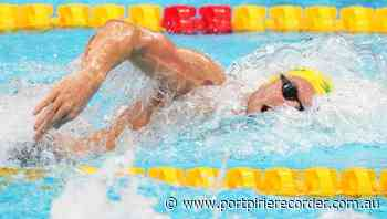 Chalmers wins 100m freestyle silver - The Recorder