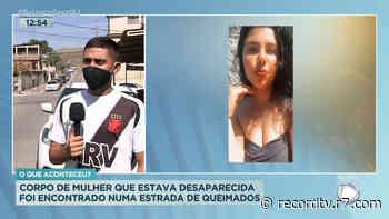 Mulher desaparecida é encontrada morta em Queimados (RJ) - Record TV