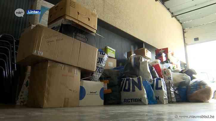 'Linter helpt' zamelt spullen in voor mensen in overstroomde Pepinster