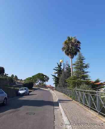Bordighera: terminati i lavori di completamento di via Principessa Mafalda - SanremoNews.it