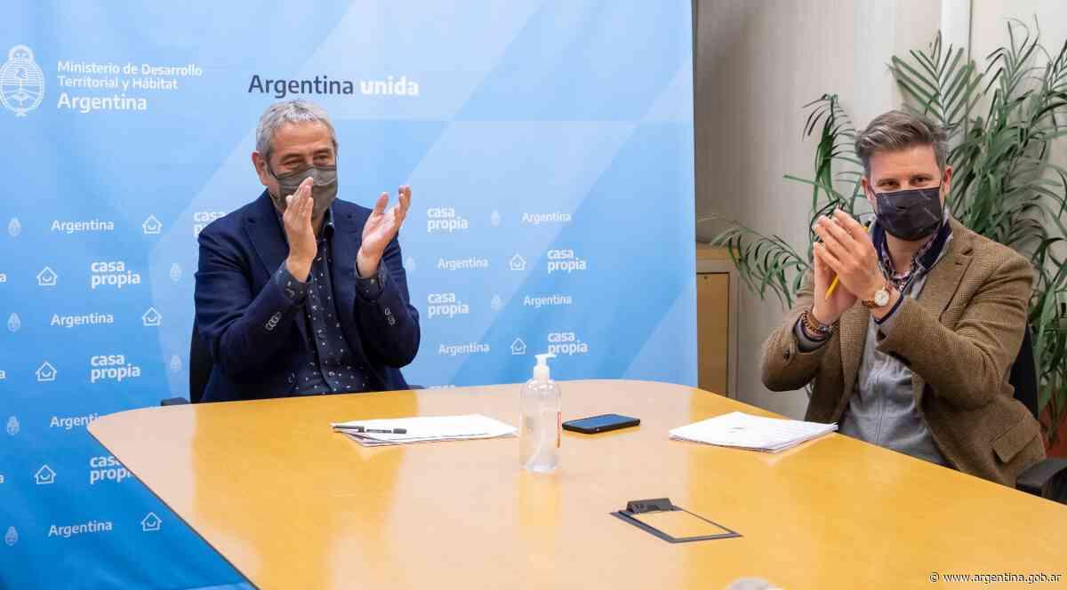 Ferraresi entregó créditos para construir viviendas en Arrecifes, Colón, Baradero y San Pedro - Argentina.gob.ar Presidencia de la Nación